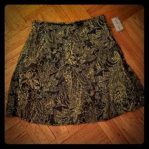 NWT DKNY jeans floral skirt